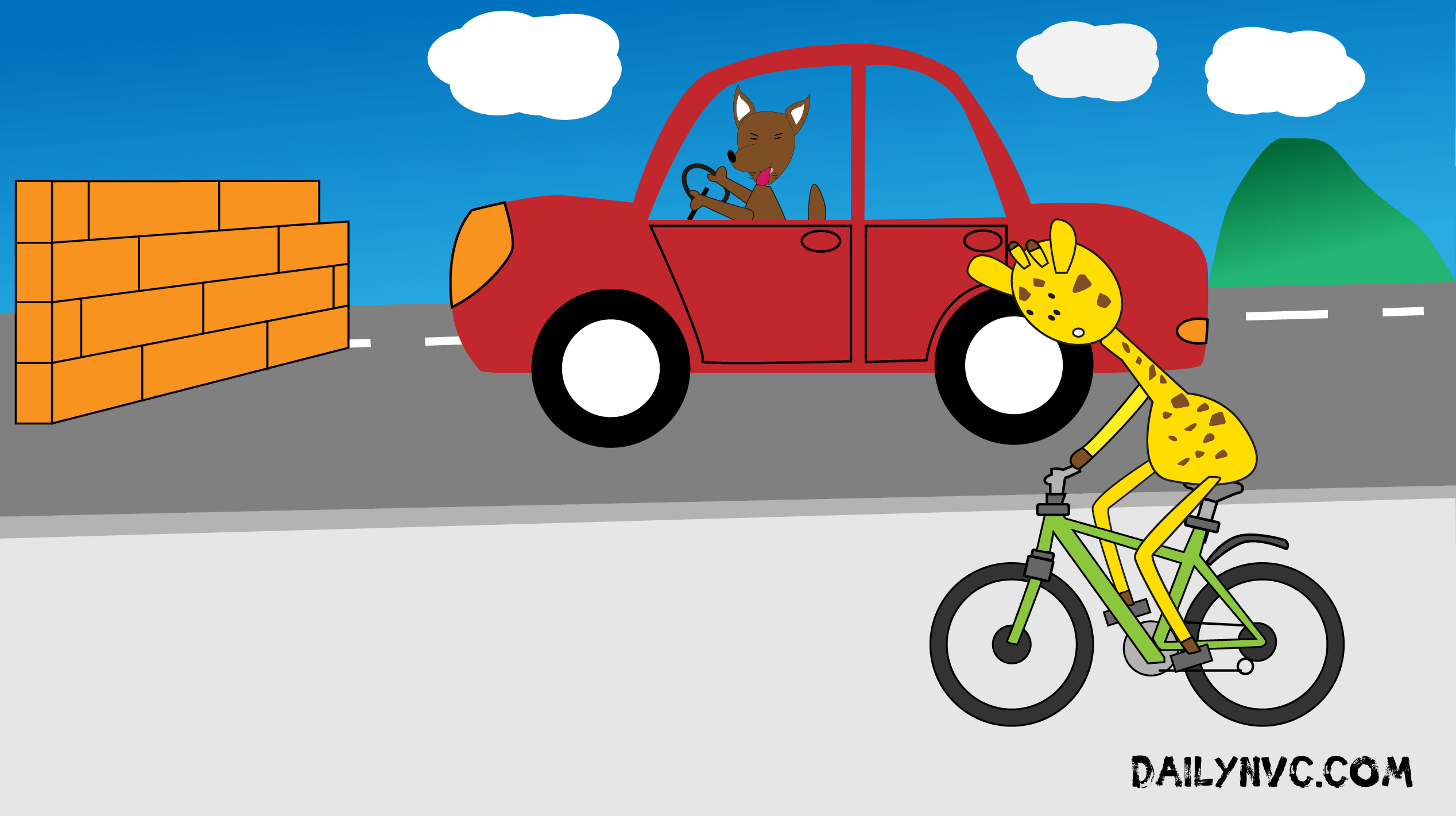 Do you think giraffes can drive? | Daily NVC