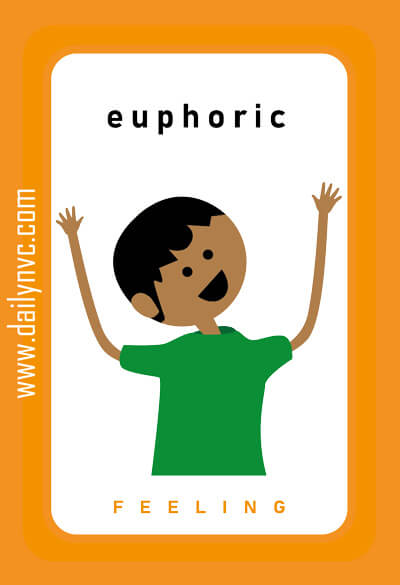 Euphoric - Feelings Cards - Daily NVC - www.dailynvc.com